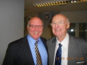 Commodore (HGC Rt) Costas Amarantides  with Jim Davis