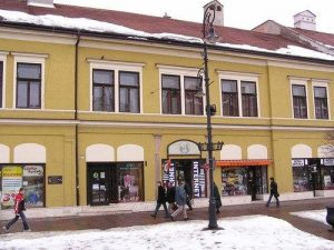 Gerster's birthplace, Kosice