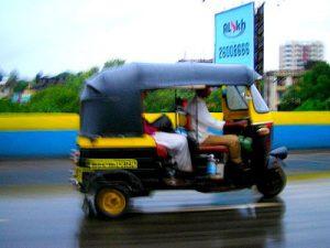 Rickshaw in motion Photo: Deepak Gupta