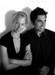 Mauricio Pezo and Sofia von Ellrichshausen. Photo Ana Crovetto (copyright) Pezo von Ellrichshausen
