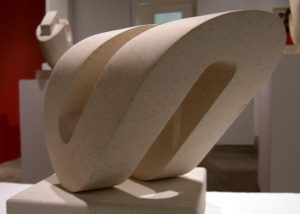 Offset Loop. Ancaster limestone. By Michael Thacker