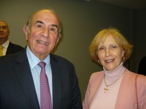 Mathew Los and Dr. Aleka Mandaraka-Sheppard