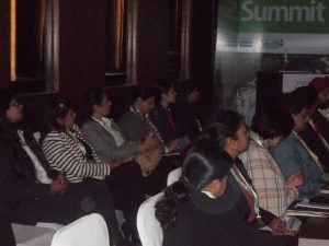 Attentive audience during India Maritime Week