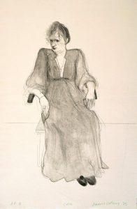 Celia, 1973. Lithograph. C David Hockney/Gemini GEL