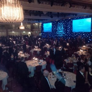 A view of the Great Room at Grosvenor House Hotel