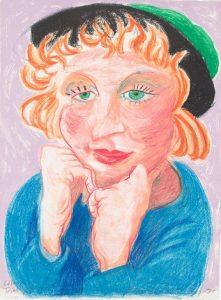 Key 19_Celia with Green Hat (NGA)