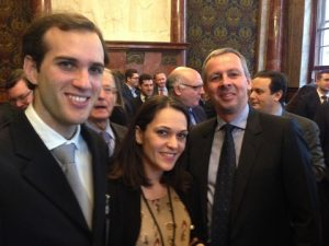 Alexander A. Tsavliris with LR's  Natali Dulgeraki and LR's CEO Richard Sadler