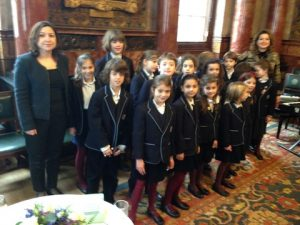 The Hellenic College children choir