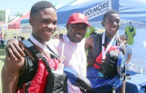 Mhlonishwa Hlongwane, Sobantu Tilayi SAMSA-COO and Nqobile Makhanya