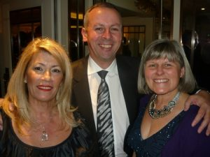 Anny Zade with Llloyd's Register CEO Richard Sadler and his wife Wendy