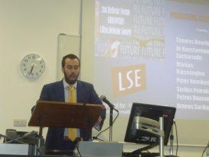 Theodoros Kalambokis introducing the event