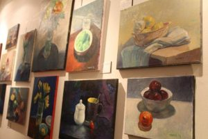 Still life oil paintings by Mani.