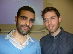 Stelios Paterakis and Petros Douvatzis