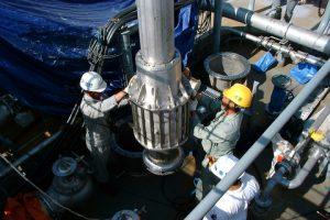 Wärtsilä's deepwell pump installation