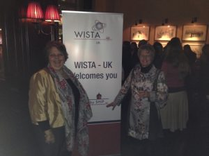 WISTA-UK President Maria Dixon with eEcoreflect's Dr. Ann-Marie Warris