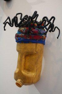 Azonto. Found objects. By Romuald Hazoumè.