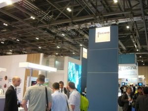 The very busy stand of FUGRO at OI 2014 yesterday afternoon