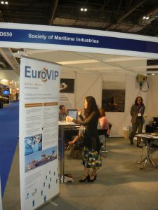 The Society of Maritime Industries stand