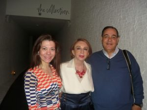 Sophia Konstantopoulou, Chrysanthi P. Lemos and photographer Teri Stamataris