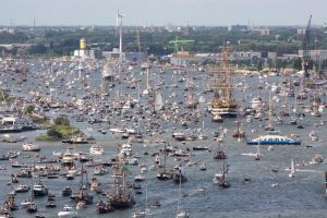 Celebrations at the Port of Amsterdam