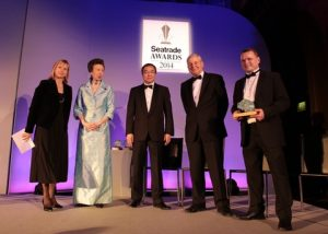 The Seatrade Awards were presented by Her Royal Highness The Princess Royal