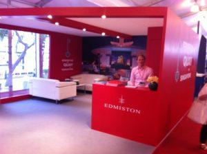 The Edmiston stand