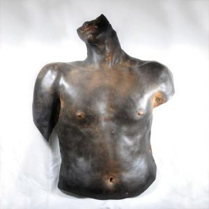 Life cast sculpture by Violet Casselden