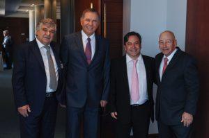 Lambros A. Chahalis, Paris Dragnis, Victor Restis and George Procopiou