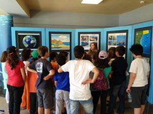 Children's guided tour of the exhibition