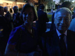 Radm and Mrs. E.E Mitropoulos