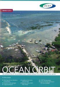 """The """"Ocean Orbit"""" - frontcover"""