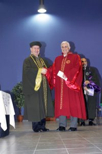 l to r: Prof. Costas Th. Grammenos and Themis Vokos