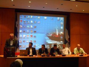 Prof. C. Chlomoudis , D.I.Diamantidis, George  Lazaridis, C.A.Karaindros, A. Spondylidis, G. Venizelos
