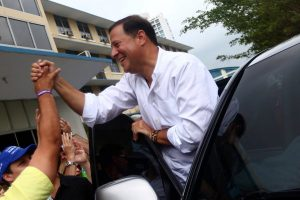 Juan Carlos Varela at a polling place in Panama City. Mr. Varela said he would promote transparency and fight corruption. Credit Edgard Garrido/Reuters