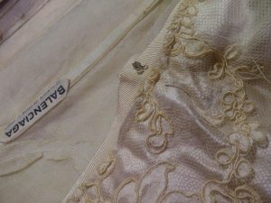 Balenciaga lace bodice.