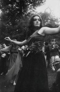 Untitled (Hippie girl dancing), 1967. Photograph, by Dennis Hopper. C Dennis Hopper, courtesy The Hopper Art Trust. www.dennishopper.com
