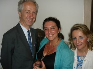 Roly Keating, Bettanny Hughes and Victoria Solomonidou Greece's Cultural Attache