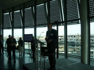 David Marsh, Managing Director of OMFIF introducing the event