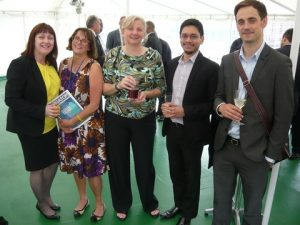 Jean Winfield from Jeanius Consulting, Bridget Hogan form The nautical Institute, Martine Frost from jeanius too, Nathan Xavier form AoS and Joesph Claery from Informa Energy