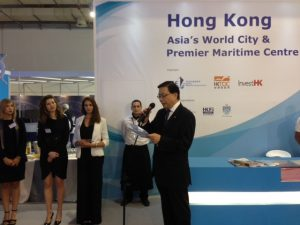 Hong Kong Secretary for Transport and Housing Anthony Cheung