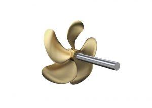 Wärtsilä FPP Opti Design, a new state-of-the-art fixed pitch propeller (FPP) design concept: - picture b