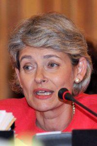 Irina Bokova, director-general of Unesco. Copyright Unesco/photographer Michel Ravassard