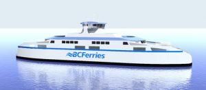 BC Ferries LNG-fuelled passenger ferry