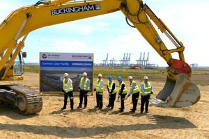 Ground Breaking Ceremony for The Common User Facility at London Gateway Logisitics Park