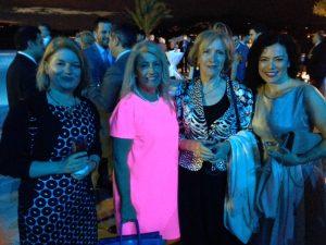 Pyghi N. Skinitis, Anny Zade, Dr. Aleka Mandaraka-Sheppard and Christina T. Pappas