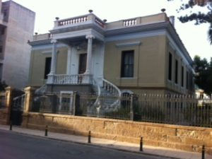 """The """"Maria Tsakos"""" Foundation-International Center of Maritime Research and Tradition mansion at Chios"""