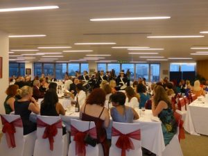 A viw from WISTA-UK's 40th anniversary Gala at the IMO
