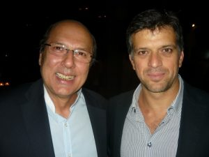 ...unending smiles with Allied's George Daskalakis and his guest