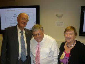 Jim Davis, David Buffin and Jean Richards