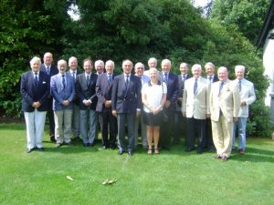 A picture of the society at recent golf day with Charles Thomson fourth from the left